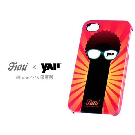 Funi x  YAP iPhone 4/4S 保護殼 - 眼睛樹