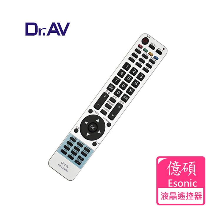 【Dr.AV】Esonic 億碩 LCD 液晶電視遙控器(THD-3202)