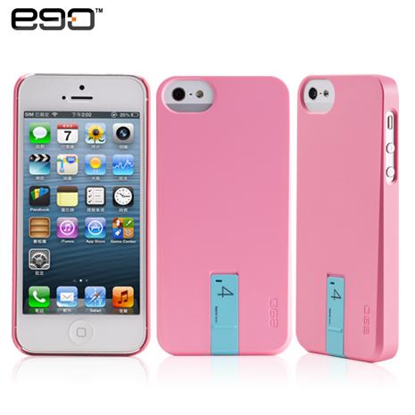 ego Hybrid USB Case iPhone 5/5S 專用隨身碟造型保護殼-粉+4G藍