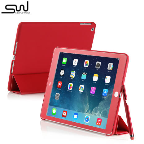 SIMPLE WEAR iPad Air Cover-Mate+ 專用硬殼保護套 - 深遂紅