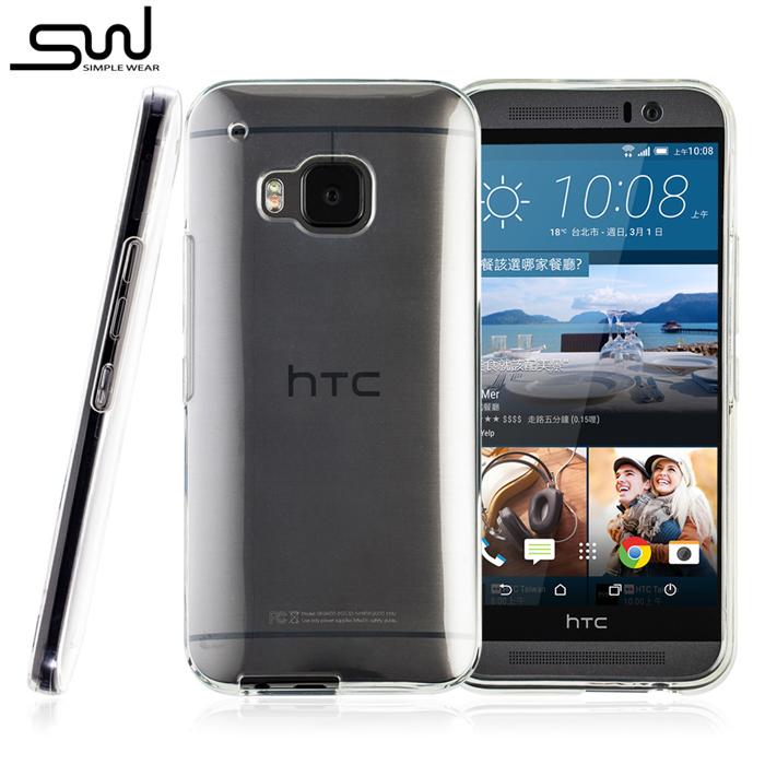 SIMPLE WEAR HTC One M9 專用 TPU 保護套 - 透明