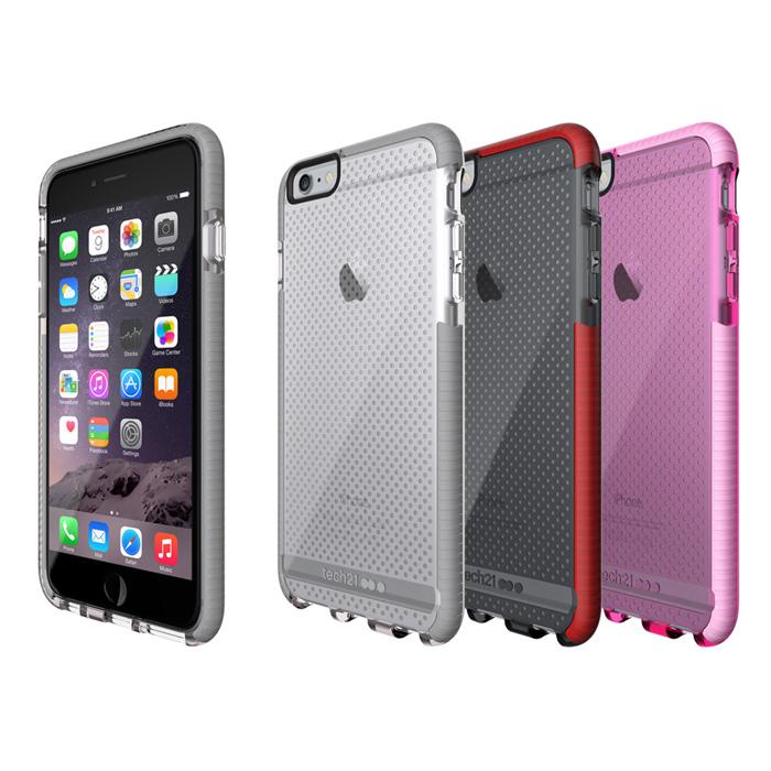 Tech21 英國超衝擊 Evo Mesh iPhone 6/6S Plus (5.5) 防撞軟質保護殼