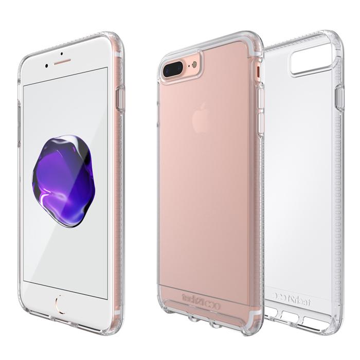 Tech21 英國超衝擊 Impact Clear iPhone 7 Plus 防撞硬式透明保護殼