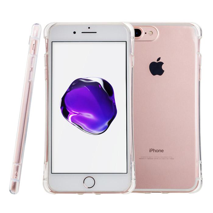 SIMPLE WEAR iPhone 7 Plus (5.5) 專用GRIP全包覆透明TPU保護套