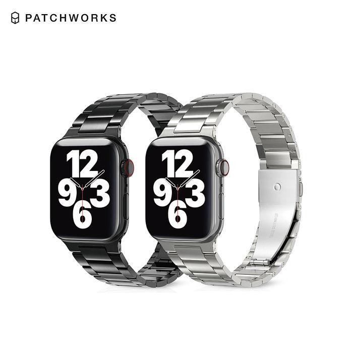 PATCHWORKS Apple Watch 不鏽鋼錶帶 42/44mm專用