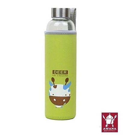 AWANA 動物耐熱玻璃杯550ml (隨機款)