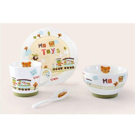 繽紛陶瓷餐具四件組 【特賣】