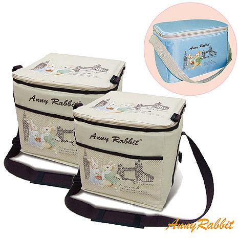 買2送1 安妮兔保溫保冷袋(大)+送保冷保溫袋(小)皆附背袋