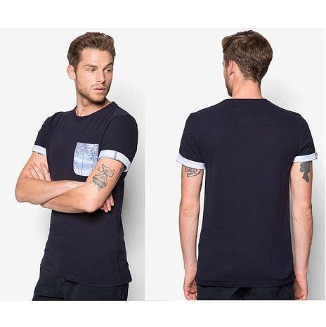 ☆限期優惠69折☆superdry 極度乾燥 men t-shirts 紮染口袋T恤(黑色) 官網訂價NT2250