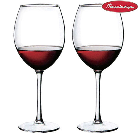 土耳其Pasabahce高腳紅酒杯420cc二入組