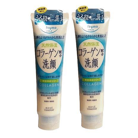 日本KOSE softymo膠原蛋白洗面乳150g-二入組