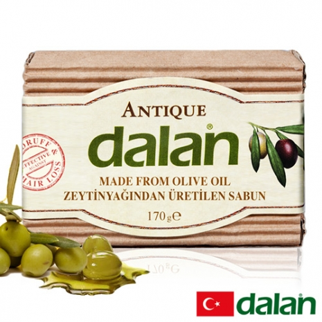 【土耳其dalan】頂級橄欖油潔膚傳統手工皂170 G