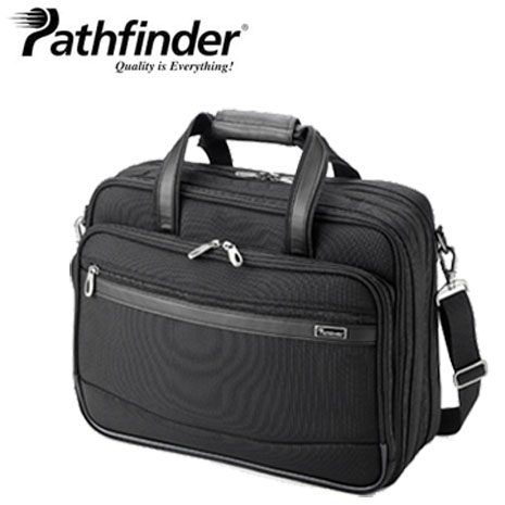 【Pathfinder】經典耐用 Rev XT系列 17快速通關商務包-碳纖黑