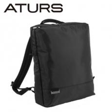 ~ATURS~都會簡約 URBAN NEAT系列 15吋輕量後背包~黑色