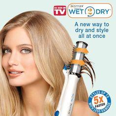 美國 Instyler Wet2Dry 乾濕兩用負離子造型美髮神器