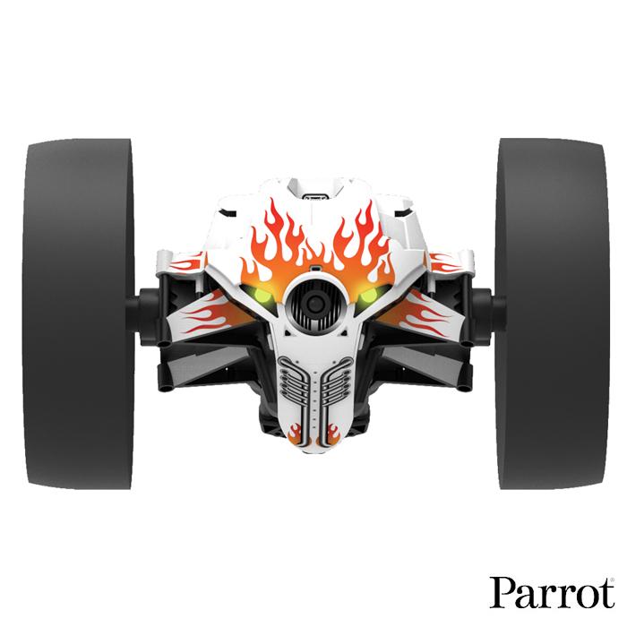 【Parrot】Jumping Race 競速版跳躍遙控車機器人(Jett天使白)