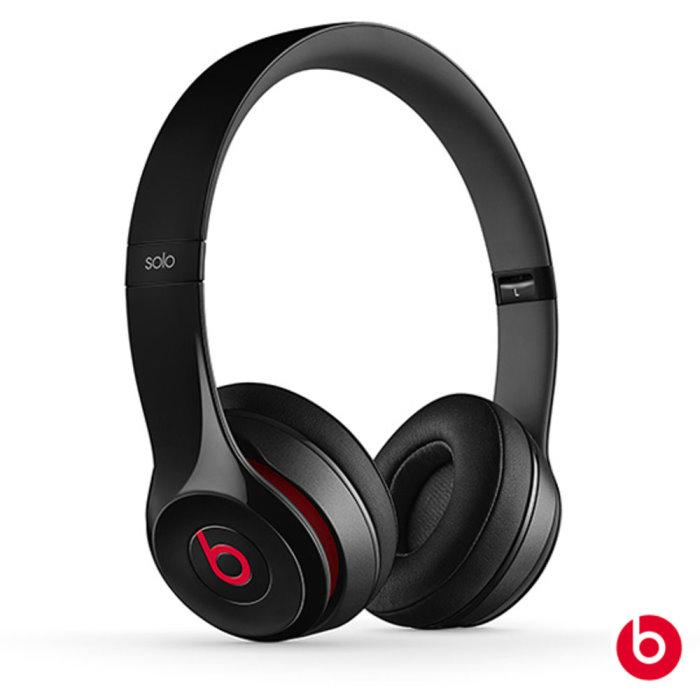 【Beats】Solo 2 耳罩式耳機紅