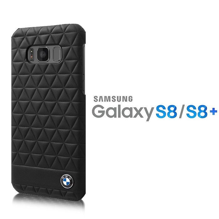BMW SAMSUNG S8 / S8plus 真皮浮雕背蓋【原廠/精裝盒】SAMSUNG S8