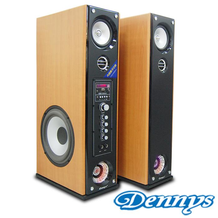 【Dennys】USB/SD藍芽多媒體落地型喇叭(CS-699)