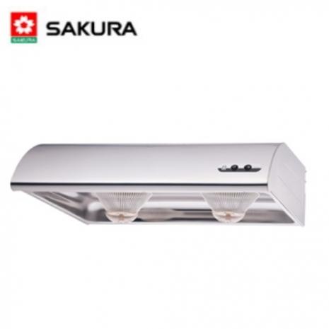 櫻花 R-3012SXL不鏽鋼單層式除油煙機 (90CM)