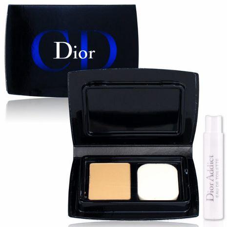 Dior 迪奧 光柔恆色水潤精華粉餅3g #020 贈Dior針管香水(隨機出貨)