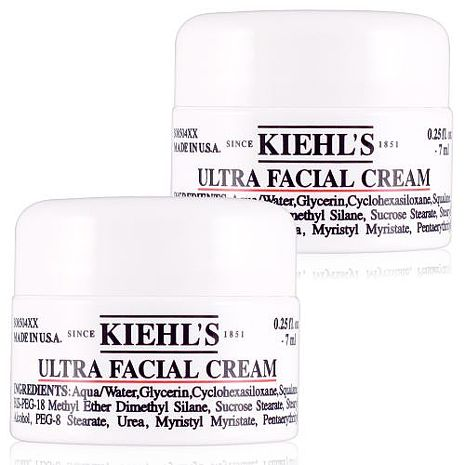 Kiehls 契爾氏 冰河醣蛋白保濕霜 7ml x2入-美妝‧保養‧香氛‧精品-myfone購物