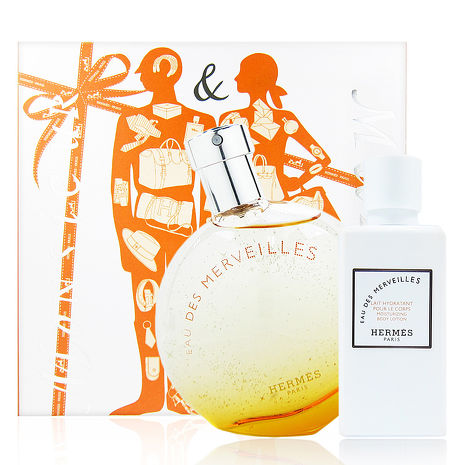 HERMES 愛馬仕 橘采星光女性香水禮盒 精巧版-美妝‧保養‧香氛‧精品-myfone購物