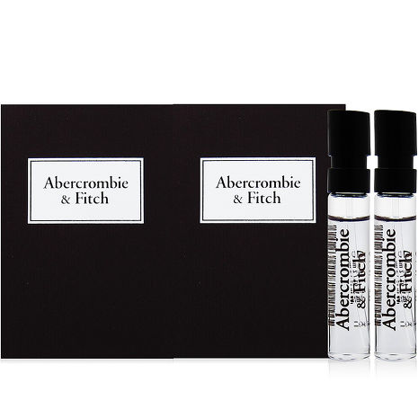 Abercrombie&Fitch AF同名經典男性淡香水針管2mlx2入