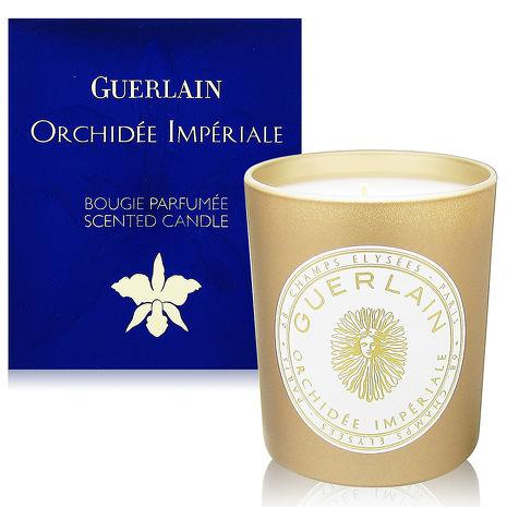 GUERLAIN嬌蘭 頂級蘭鑽香氛蠟燭180g金色玻璃罐裝版