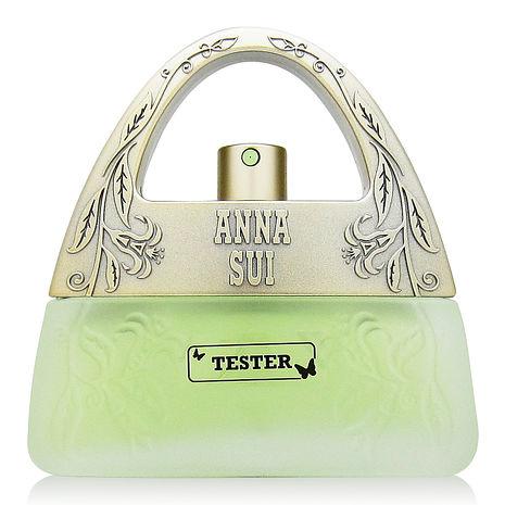 ANNA SUI安娜蘇 甜蜜夢境淡香水 茉綠限量版30ml TESTER+Dior迪奧隨機針管香水一份