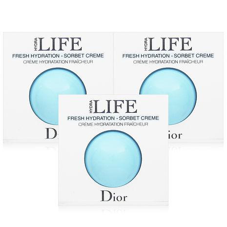 Dior迪奧 花植水漾精華凝霜3mlx3入 (體驗品)
