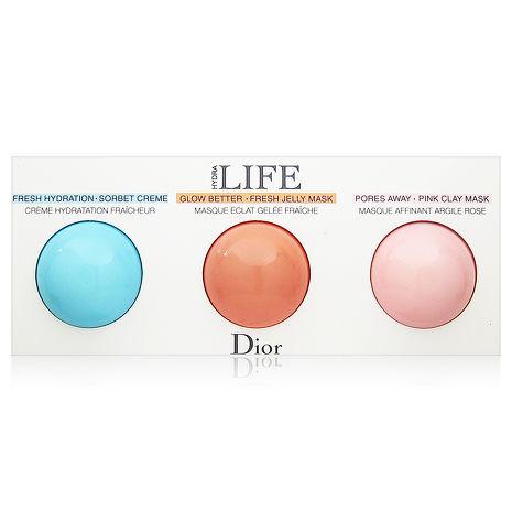 Dior迪奧 花植水漾面膜與凝霜體驗組