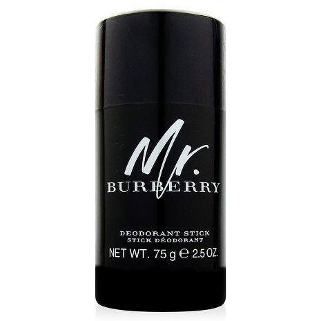 BURBERRY Mr.BURBERRY體香膏75g+同廠隨機針管香水一份
