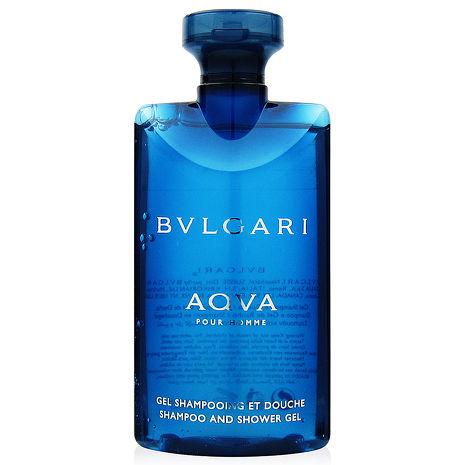 BVLGARI寶格麗 水能量洗髮沐浴膠75ml