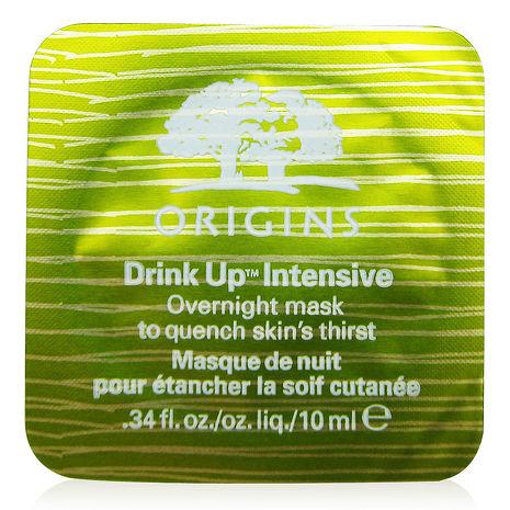 ORIGINS品木宣言 一飲而盡深度滋潤面膜10ml(體驗包)