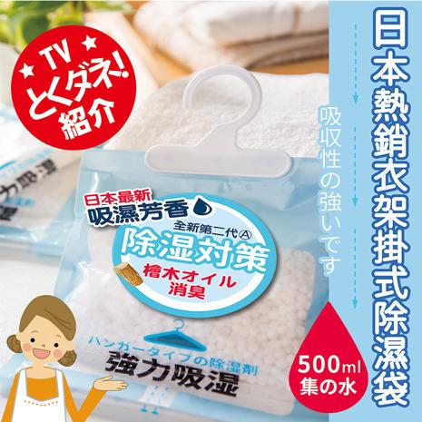 【優宅嚴選】日本全新第二代強力除濕掛袋(12入)(促銷特賣)