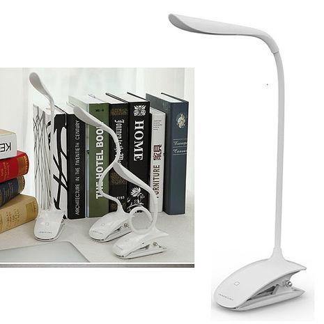 時尚LED觸控夾燈 USB充電式YW-LED501