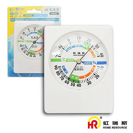 【HomeResource】虹瑞斯室內外溫濕度計THM-001