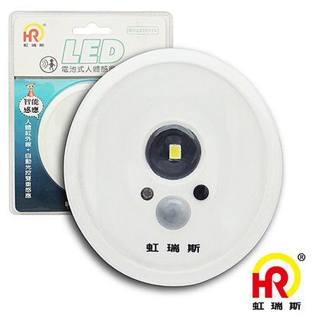 【HomeResource】電池式人體感應燈BO-LED011A