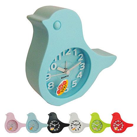 無敵王 糖果色小鳥造型立體數字鬧鐘SV-1348