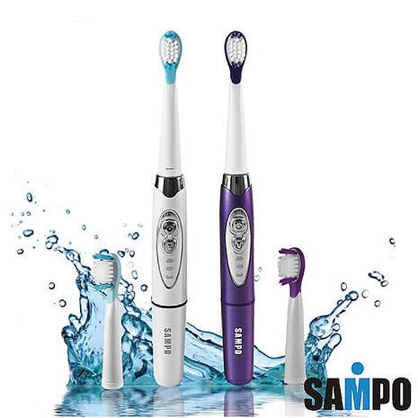 SAMPO聲寶 音波震動牙刷白/紫 顏色隨機 TB-Z1508L