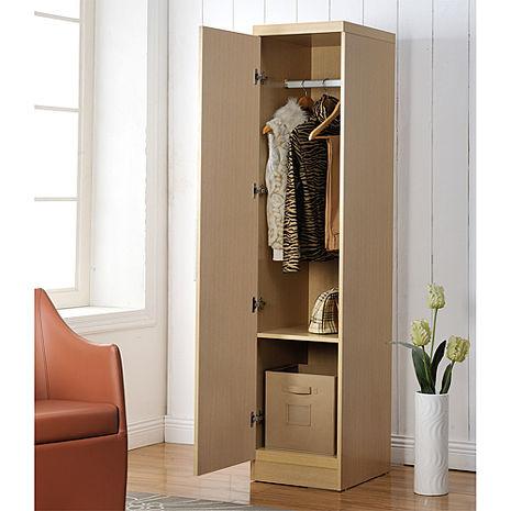 特賣↘【德萊妮】時尚單門衣櫃/櫥櫃(白橡色)