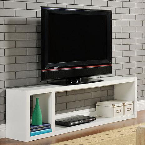特賣↘【德萊妮】DIY現代感簡約電視櫃/置物櫃/收納櫃(白色)