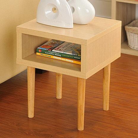 特賣↘【德萊妮】DIY日本極簡風萬用小茶几桌/邊桌(白橡色)