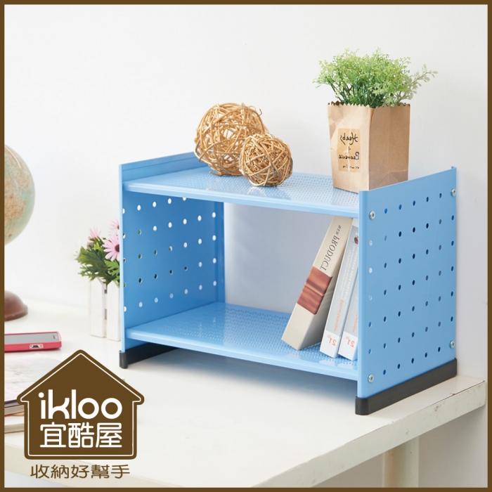 【ikloo】貴族風組合式書架(特賣)尊爵黑