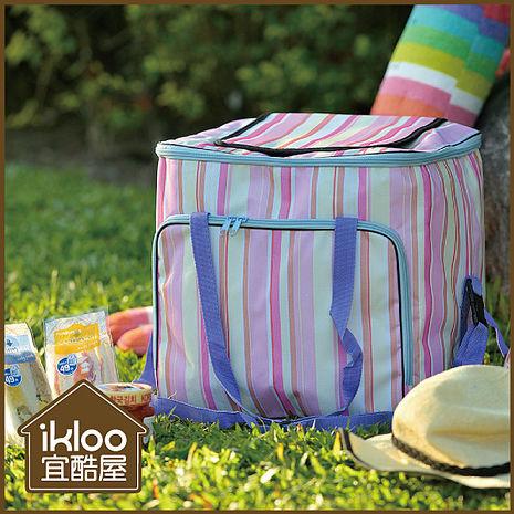 【ikloo】粉彩外出保冷袋/保溫袋-特價
