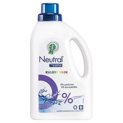 諾淨低敏濃縮洗衣精 (護色)750ML×10罐箱購