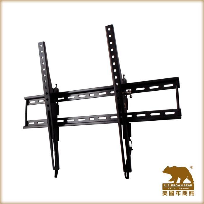 【美國布朗熊】W5-T63 牆板傾斜式電視壁掛架 / 適用37吋~63吋電視
