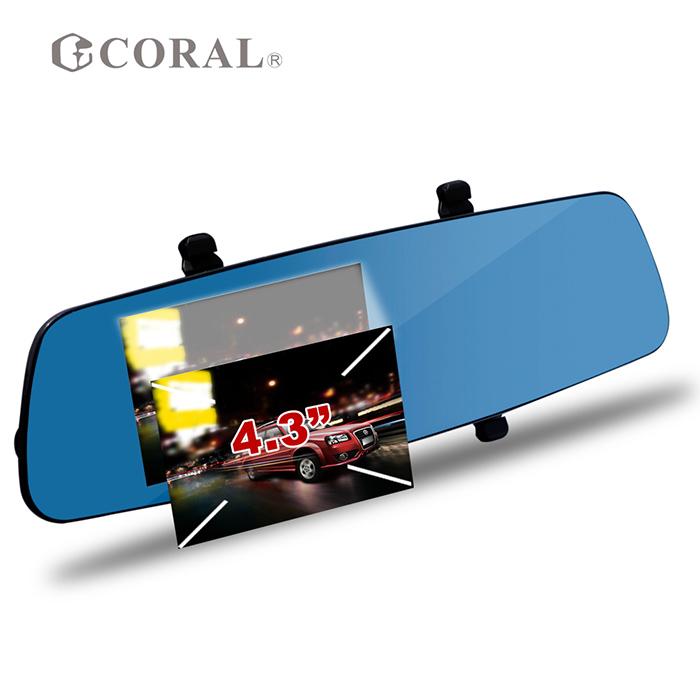 CORAL T3i GPS測速 雙鏡頭 安全預警 後視鏡行車記錄器 (ADAS雙鏡頭行車記錄器)-相機.消費電子.汽機車-myfone購物