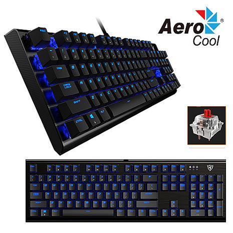 【Aero cool】 ThunderX3 機械式電競鍵盤 TK50 (紅軸藍燈)